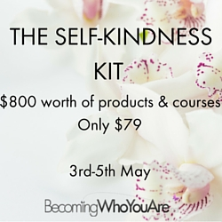 self kindness kit ad